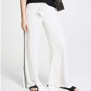 Casual Figue White Pant